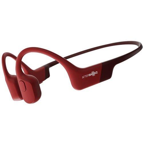 Aftershokz Aeropex Wireless Bone Conduction Headphones - Solar Red