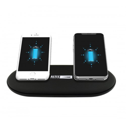 Altec Lansing 15 Watt Dual Position Wireless Charging Pad - Black
