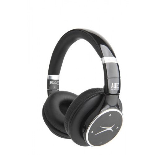 Altec Lansing MZX007 Bluetooth Headphones - Black