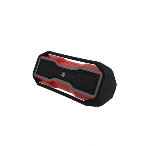 Altec Lansing Rockbox Portable Bluetooth Speaker - Red