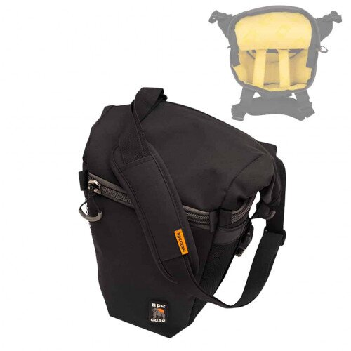 Ape Case ACPRO840W Professional Large Holster Camera Case with Expandable Top