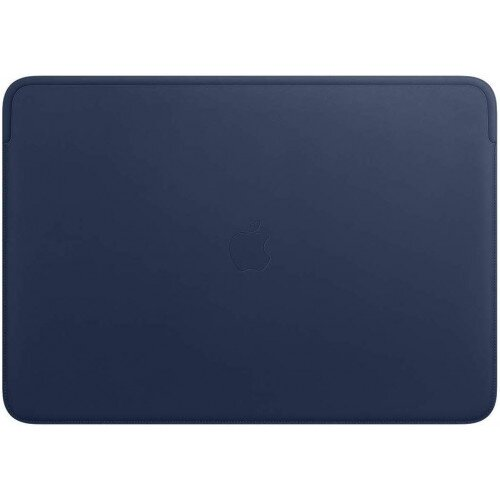 Apple Leather Sleeve for 16‑inch MacBook Pro - Midnight Blue