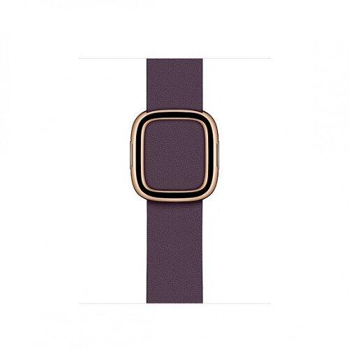 Apple Modern Buckle Band for Apple Watch - Medium - Aubergine