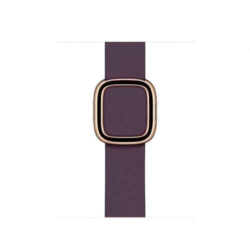 Apple Modern Buckle Band for Apple Watch - Large - Aubergine