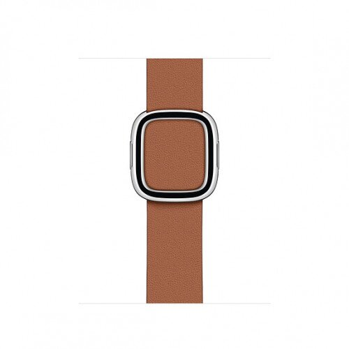 Apple Modern Buckle Band for Apple Watch - Large - Saddle Brown