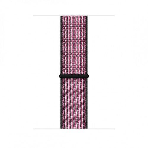 Apple Nike Sport Loop for Apple Watch - 44mm - Pink Blast/True Berry