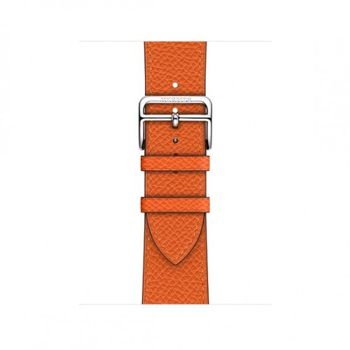 Apple Watch Hermes Swift Leather Single Tour - 40mm - Feu