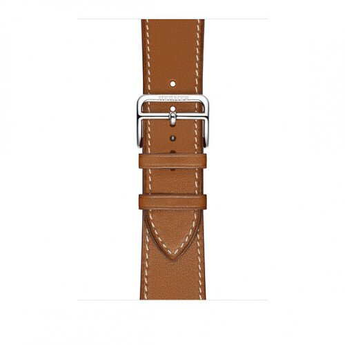 Apple Watch Hermes Swift Leather Single Tour - 44mm - Fauve