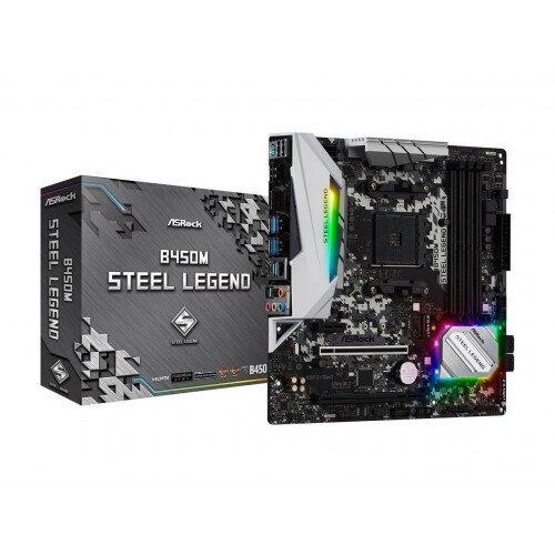 Asrock B450M Steel Legend Motherboard