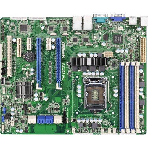 ASRock Rack E3C204-V4L Motherboard