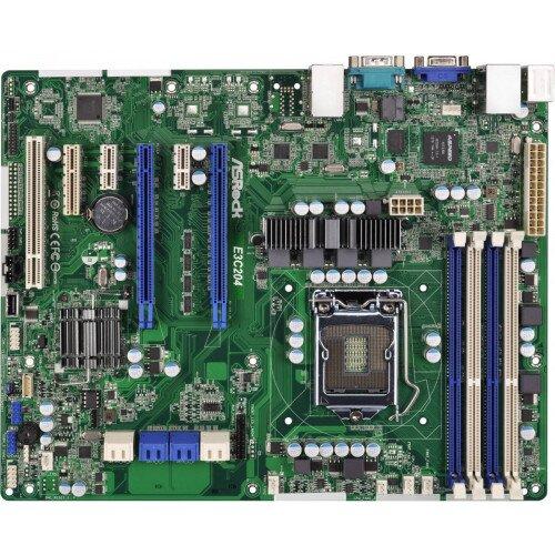 ASRock Rack E3C204 Motherboard