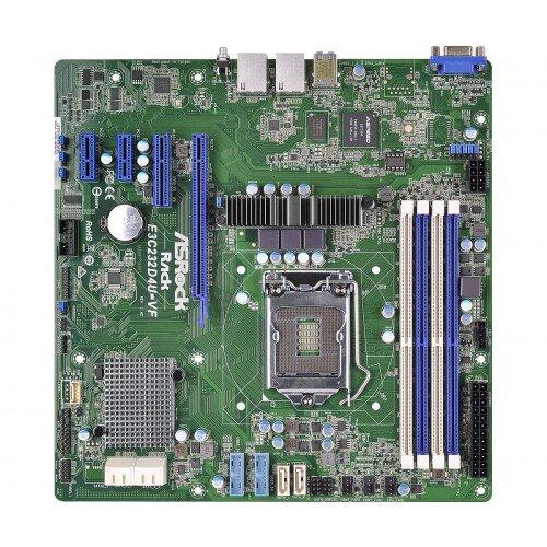 ASRock Rack E3C232D4U-VF Motherboard