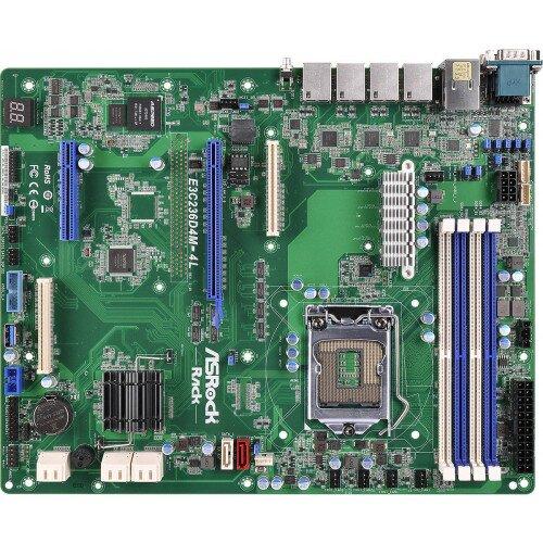 ASRock Rack E3C236D4M-4L Motherboard