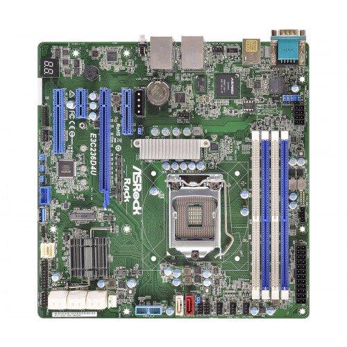 ASRock Rack E3C236D4U Motherboard