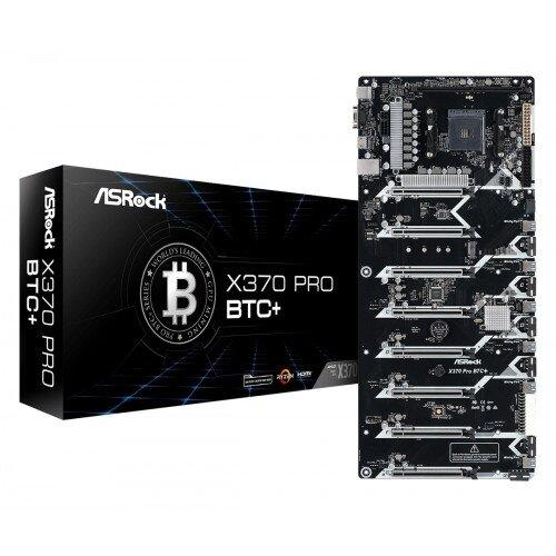 ASRock X370 Pro BTC+ Motherboard