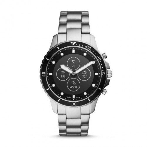 Fossil Hybrid Smartwatch HR FB-01 - Stainless Steel