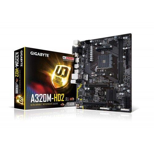 Gigabyte GA-A320M-HD2 (Rev. 1.0) Motherboard