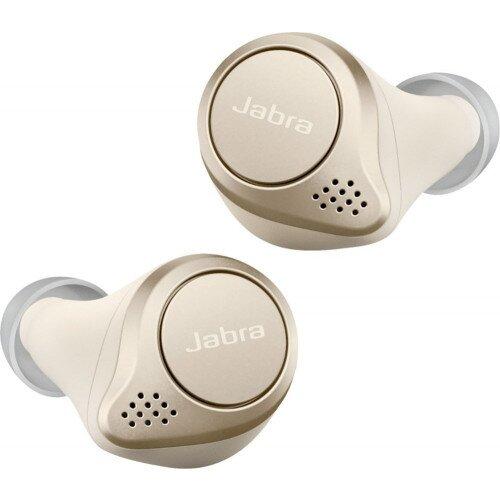 Jabra Elite 75t True Wireless Earbuds - Gold Beige