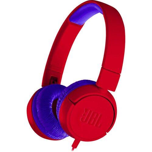 JBL JR300 Over-Ear Headphone - Spider Red