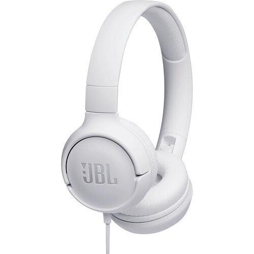 JBL Tune 500 Over-Ear Headphones - White