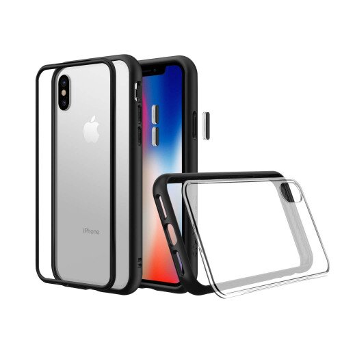 RhinoShield Mod NX Case - iPhone XS - Black