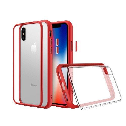 RhinoShield Mod NX Case - iPhone X - Red