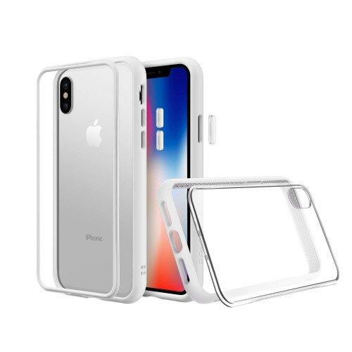 RhinoShield Mod NX Case - iPhone X - White