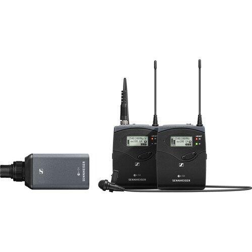 Sennheiser EW 100 ENG G4-A Camera Broadcast Wireless Microphone Set