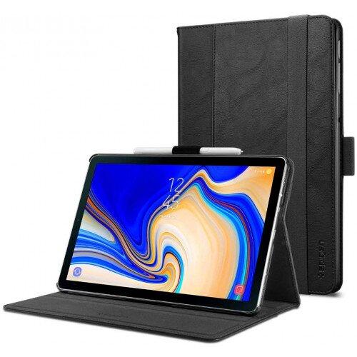 Spigen Galaxy Tab S4 Case Stand Folio - Black