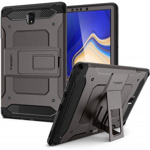 Spigen Galaxy Tab S4 Case Tough Armor Tech - Gunmetal