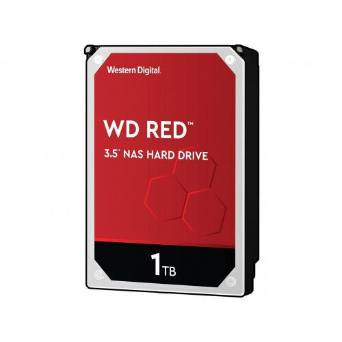 WD Red NAS Internal Hard Drive - 3.5 inches - 64MB - 1TB