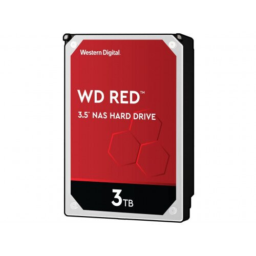 WD Red NAS Internal Hard Drive - 3.5 inches - 256MB - 3TB