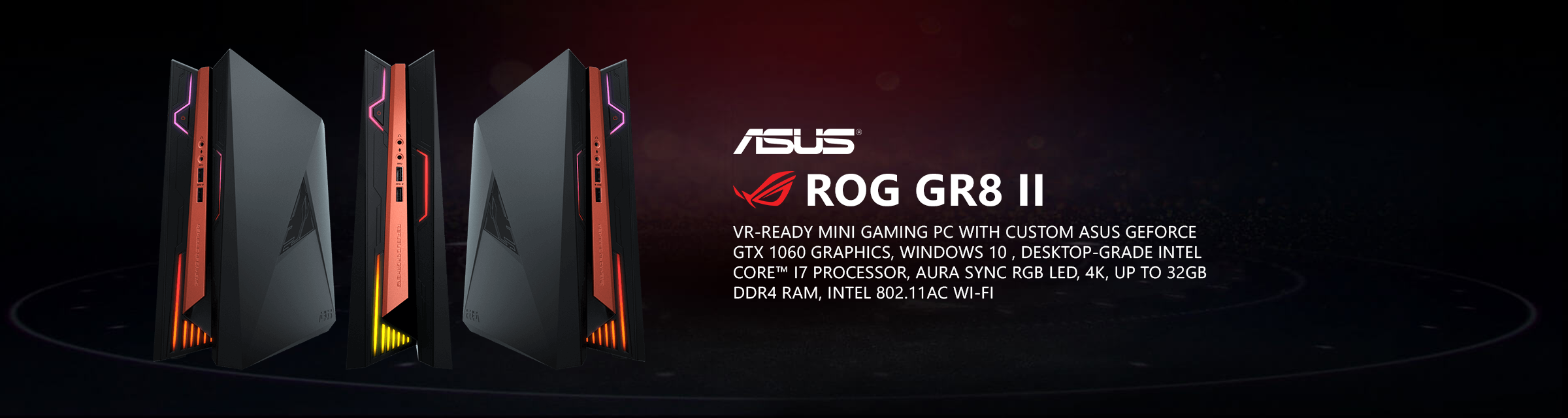 ASUS ROG GR8 II VR-Ready Mini Gaming PC