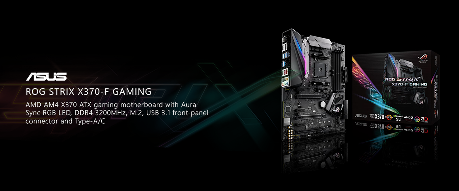 ASUS ROG Strix X370-F Gaming Motherboard