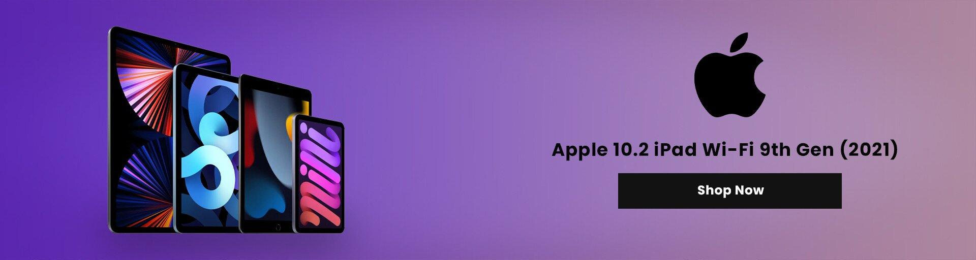 Apple 10.2″ iPad Wi-Fi 9th Gen (2021)