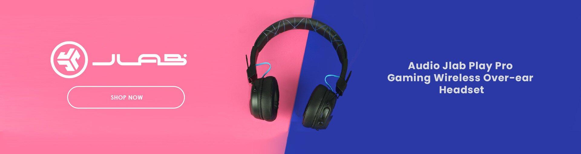 JLab Audio Jlab Play Pro Gaming Wireless Over-ear Headset