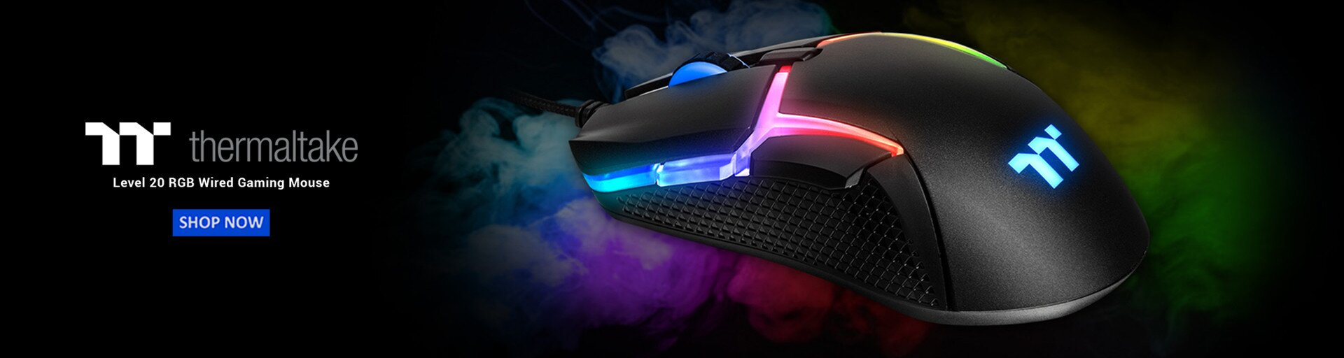 Thermaltake Level 20 RGB Wired Gaming Mouse