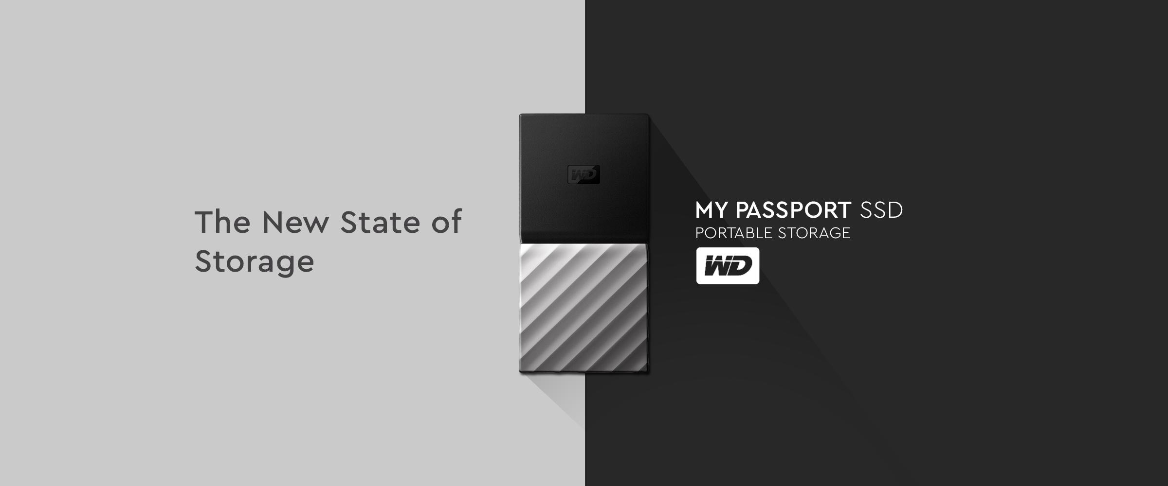 WD My Passport SSD Portable Storage